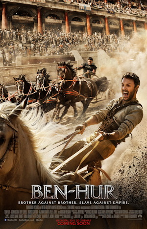 ben hur 2016 movie poster one sheet