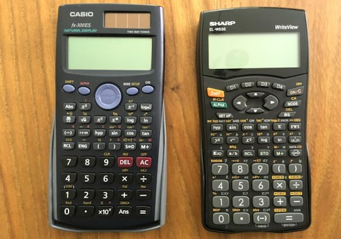 casio sharp calculator