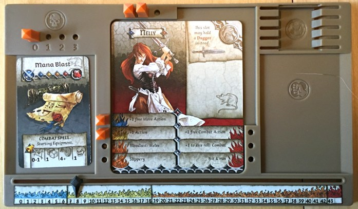 zombicide black plague player board
