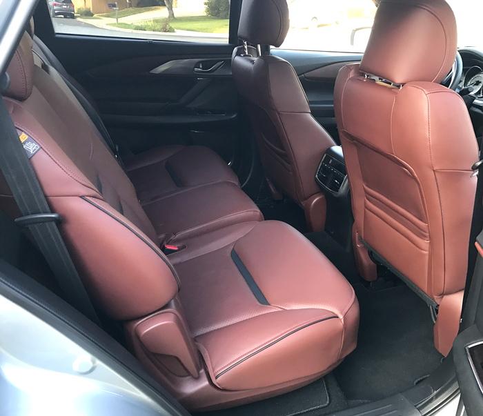 rear seat legroom 2016 mazda cx-9