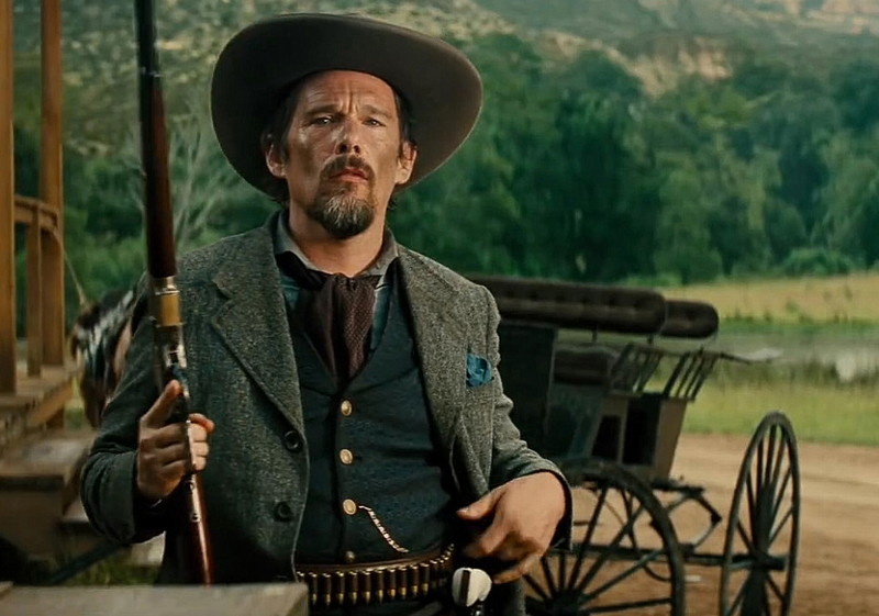 """Goodnight Robicheaux (Ethan Hawke) from """"The Magnificent Seven"""""""