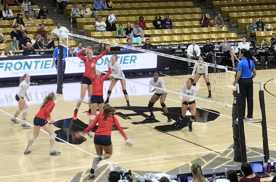 arizona wildcats volleyball vs cu boulder