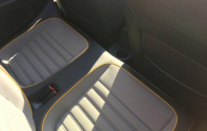 2017 vw beetle dune back seats legroom