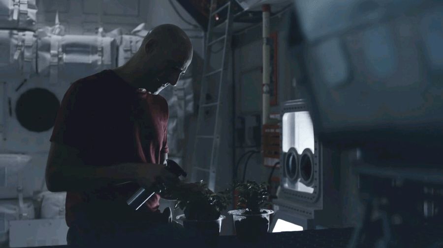 "Captain William Stanaforth (Mark Strong), from ""Approaching the Unknown"""