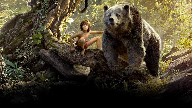 "Mowgli and Baloo, from ""The Jungle Book"""