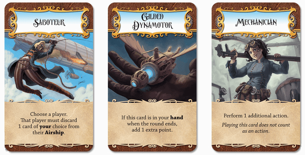 dastardly dirigibles special cards