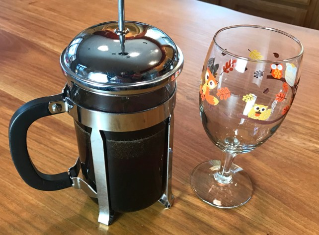 cold brew ready to dispense coffee