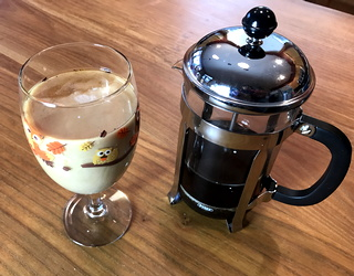 how to make home cold brew coffee fridge french press