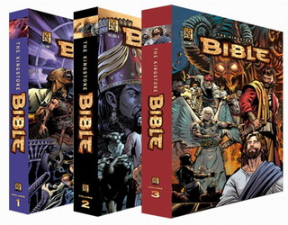 review kingstone graphic novel bible