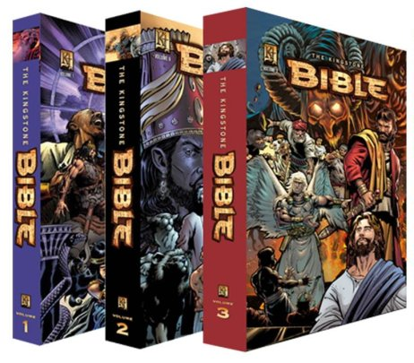 kingstone graphic novel bible