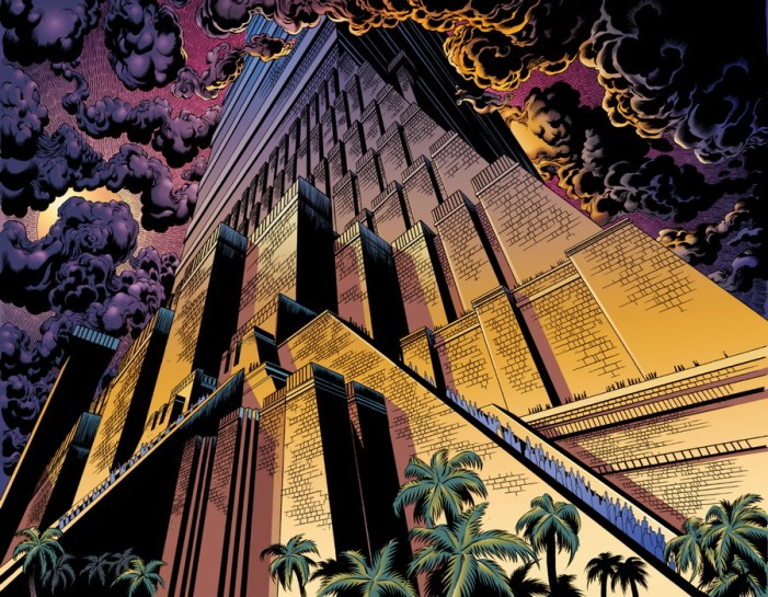 tower of babel, kingstone comics graphic novel bible