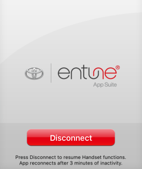 toyota entune on ios apple iphone