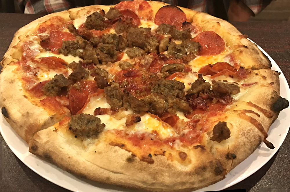 the meatza pizza from 1000 degrees