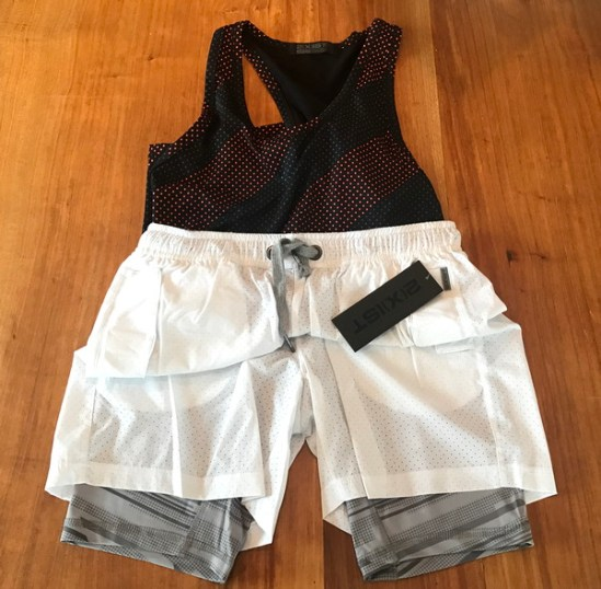 2xist activewear shorts shirt