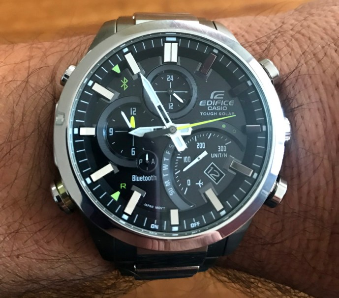 casio edifice eqb 500 men's watch