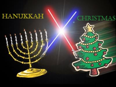 christmas vs hanukkah