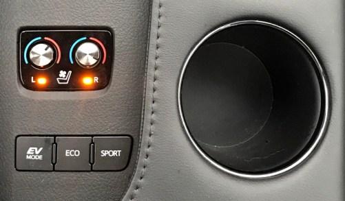 center console controls, 2017 toyota avalon