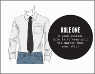 how to match shirt and ties men's dressing clothes fashion