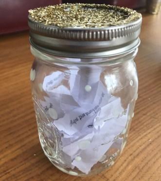 mason jar, truth or dare