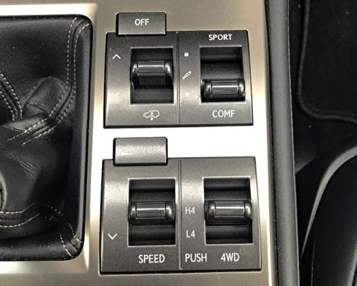 awd 4x4 controls, 2017 lexus gx460