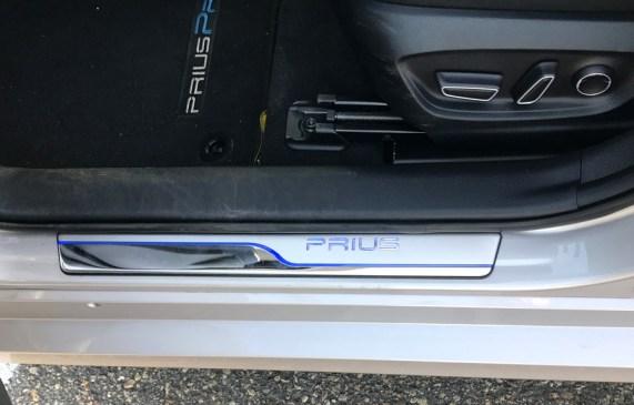 swanky lit door panels, prius prime