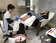 the broadmoor salon spa pedicure teen girl
