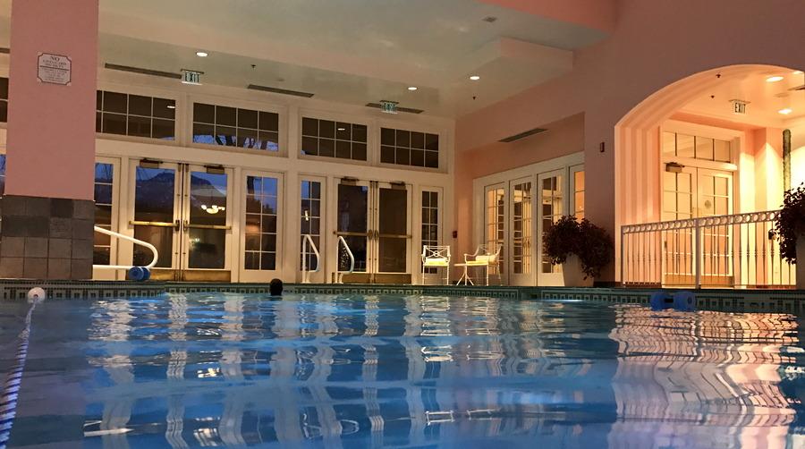 indoor pool, spa at the broadmoor, colorado springs