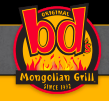 bd's mongolian grill, logo