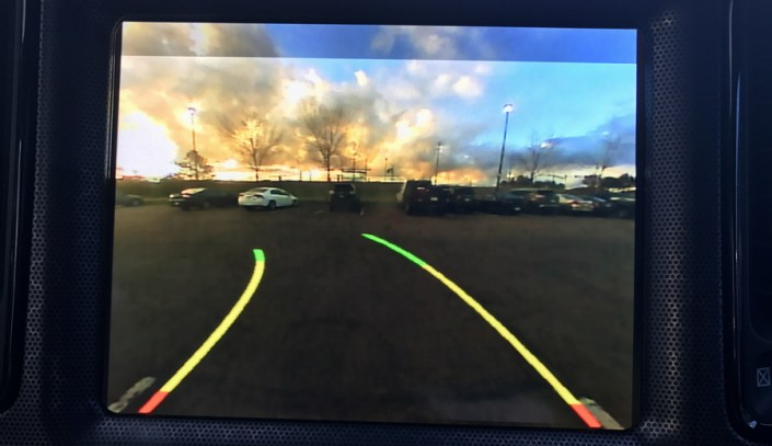 reverse camera false colors, 2017 dodge challenger