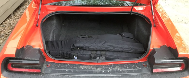 2017 dodge challenger gt trunk with cello