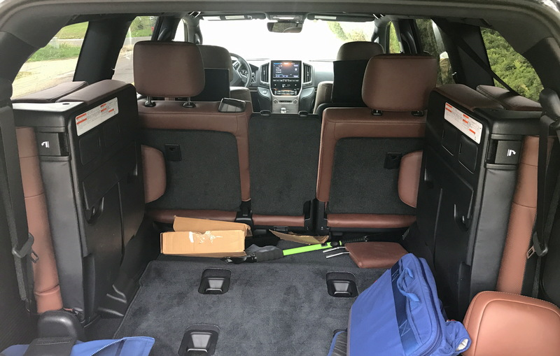 rear split seats third row 2017 toyota land cruiser