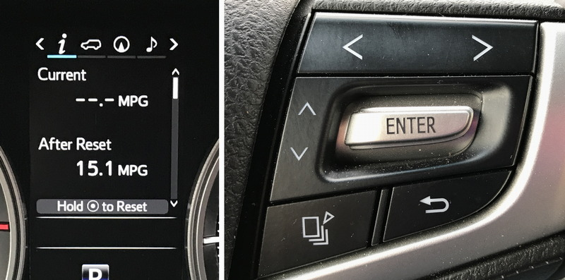 2017 toyota land cruiser - dashboard control design mistake