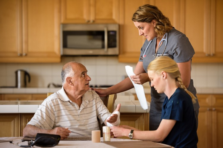 dispatchhealth in home eldercare help assistance medical
