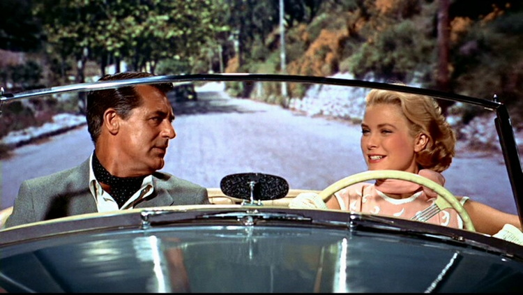 cary grant, grace kelly 'to catch a thief'