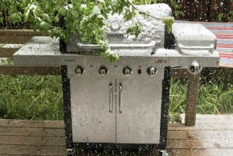 bbq in the snow? why not!