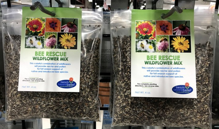 bee rescue wildflower seeds