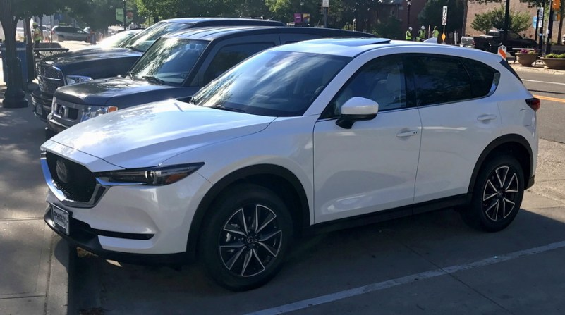 brand new mazda 2017 cx-5 awd white