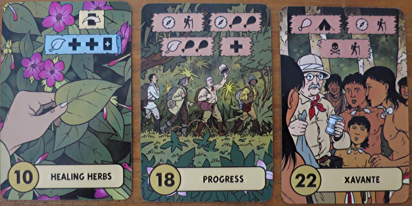 adventure card challenges, the lost expedition game