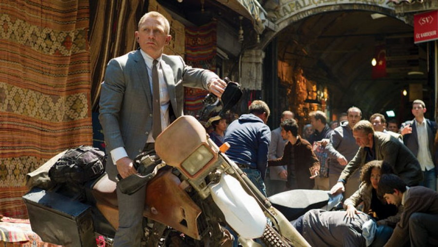 skyfall production still