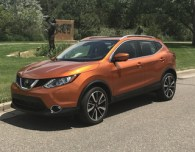2017 nissan rogue sport sl awd pt monarch orange review