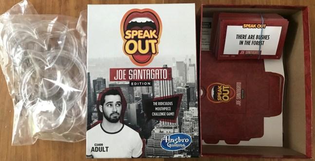 speak out joe santagato edition