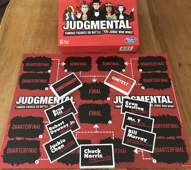 hasbro judgmental board game contest