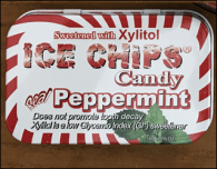 ice chips candy mints