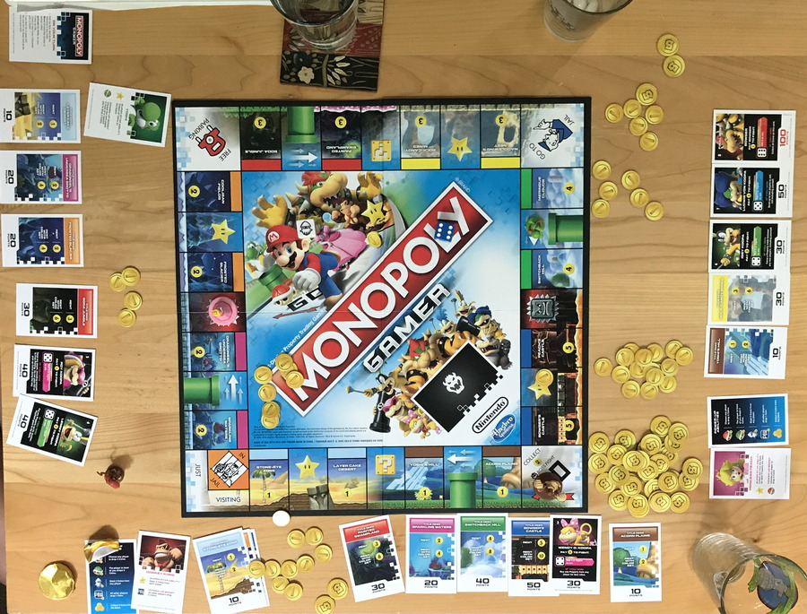 monopoly gamer full play layout