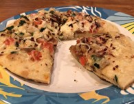 nutrisystem pizza with spices and extra cheese