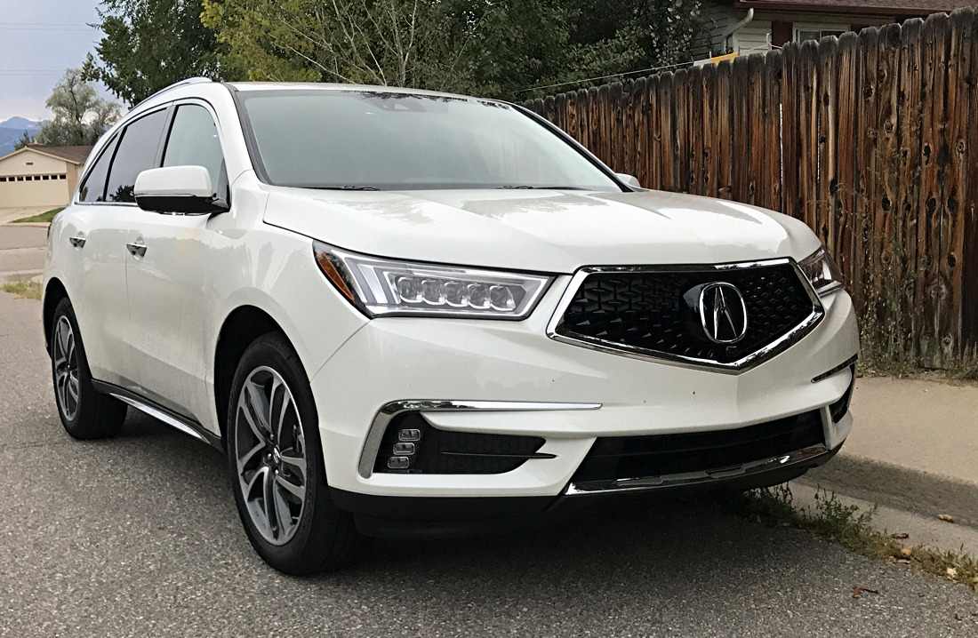 Everything But The Electronics The Acura MDX From GoFatherhood - Acura mdx front grill