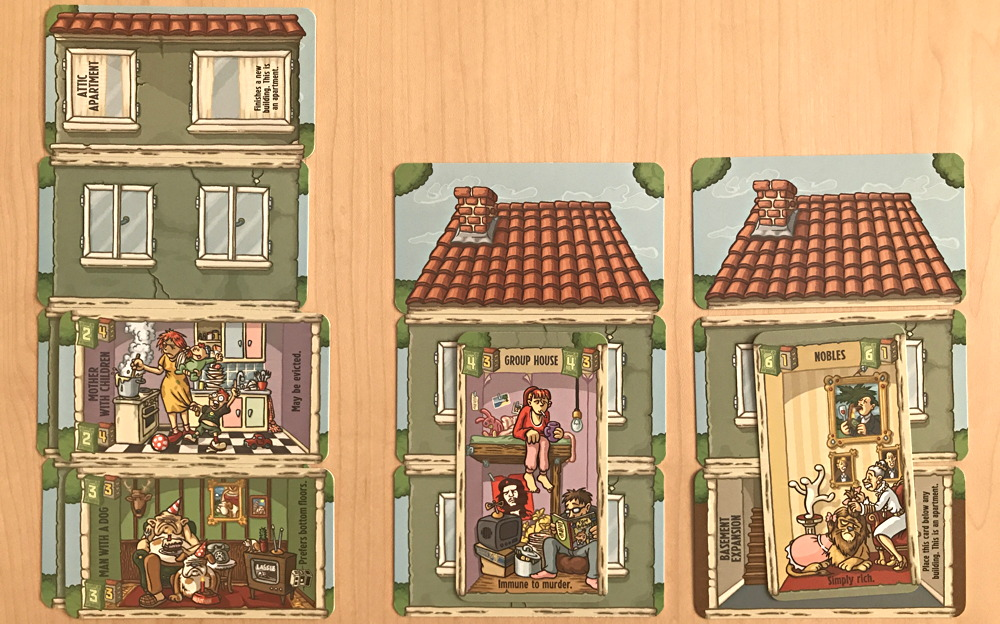 apartment buildings, friese's landlord game