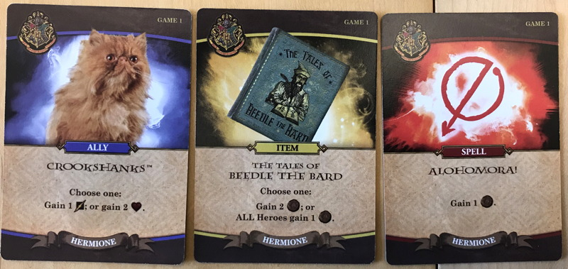 harry potter hogwarts battle - cards