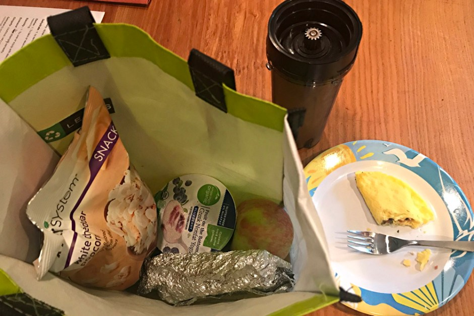 a day's food, nutrisystem for men