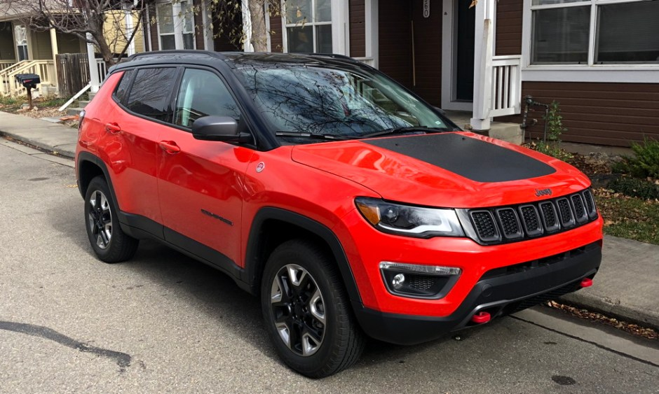 on road not off with the 2017 jeep compass trailhawk from gofatherhood. Black Bedroom Furniture Sets. Home Design Ideas